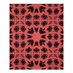 Digital Computer Graphic Seamless Patterned Ornament In A Red Colors For Design Shower Curtain 60  X 72  (medium)