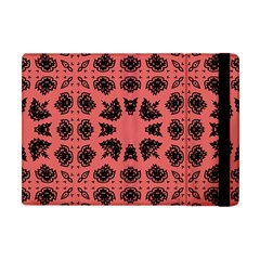 Digital Computer Graphic Seamless Patterned Ornament In A Red Colors For Design Apple Ipad Mini Flip Case