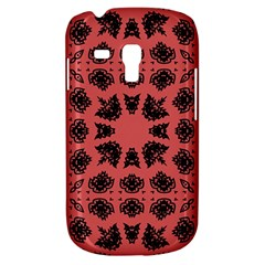 Digital Computer Graphic Seamless Patterned Ornament In A Red Colors For Design Galaxy S3 Mini