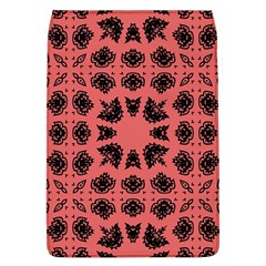 Digital Computer Graphic Seamless Patterned Ornament In A Red Colors For Design Flap Covers (L)