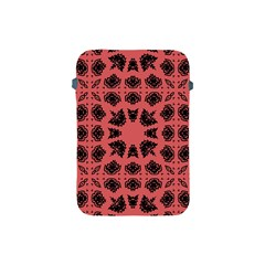 Digital Computer Graphic Seamless Patterned Ornament In A Red Colors For Design Apple Ipad Mini Protective Soft Cases