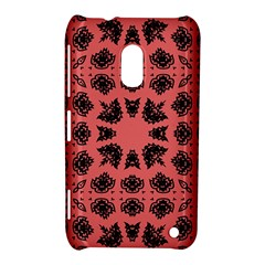 Digital Computer Graphic Seamless Patterned Ornament In A Red Colors For Design Nokia Lumia 620