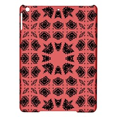 Digital Computer Graphic Seamless Patterned Ornament In A Red Colors For Design iPad Air Hardshell Cases