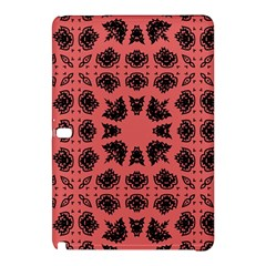 Digital Computer Graphic Seamless Patterned Ornament In A Red Colors For Design Samsung Galaxy Tab Pro 10.1 Hardshell Case