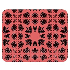 Digital Computer Graphic Seamless Patterned Ornament In A Red Colors For Design Double Sided Flano Blanket (medium)