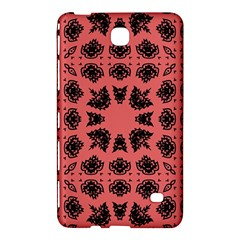 Digital Computer Graphic Seamless Patterned Ornament In A Red Colors For Design Samsung Galaxy Tab 4 (8 ) Hardshell Case