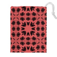 Digital Computer Graphic Seamless Patterned Ornament In A Red Colors For Design Drawstring Pouches (xxl)