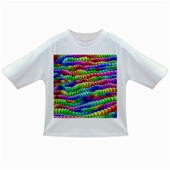 Digitally Created Abstract Rainbow Background Pattern Infant/toddler T Shirts