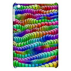 Digitally Created Abstract Rainbow Background Pattern Apple iPad Mini Hardshell Case
