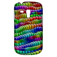 Digitally Created Abstract Rainbow Background Pattern Galaxy S3 Mini