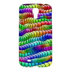 Digitally Created Abstract Rainbow Background Pattern Samsung Galaxy S4 I9500/i9505 Hardshell Case