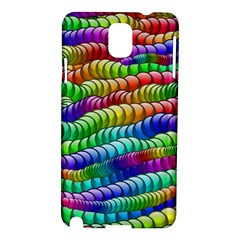 Digitally Created Abstract Rainbow Background Pattern Samsung Galaxy Note 3 N9005 Hardshell Case