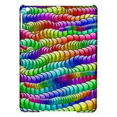 Digitally Created Abstract Rainbow Background Pattern iPad Air Hardshell Cases