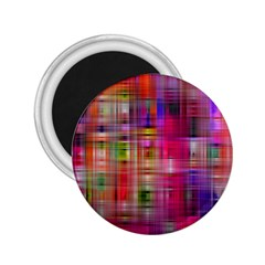 Background Abstract Weave Of Tightly Woven Colors 2 25  Magnets