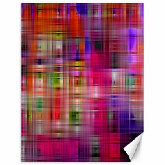 Background Abstract Weave Of Tightly Woven Colors Canvas 12  x 16