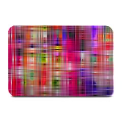 Background Abstract Weave Of Tightly Woven Colors Plate Mats