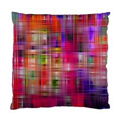 Background Abstract Weave Of Tightly Woven Colors Standard Cushion Case (One Side)