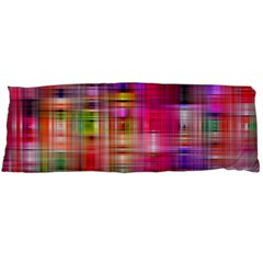 Background Abstract Weave Of Tightly Woven Colors Body Pillow Case (Dakimakura)