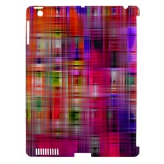 Background Abstract Weave Of Tightly Woven Colors Apple iPad 3/4 Hardshell Case (Compatible with Smart Cover)