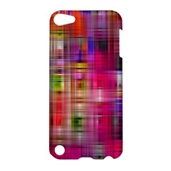 Background Abstract Weave Of Tightly Woven Colors Apple iPod Touch 5 Hardshell Case