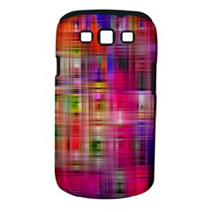 Background Abstract Weave Of Tightly Woven Colors Samsung Galaxy S III Classic Hardshell Case (PC+Silicone)