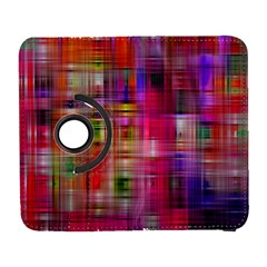 Background Abstract Weave Of Tightly Woven Colors Galaxy S3 (Flip/Folio)