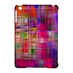 Background Abstract Weave Of Tightly Woven Colors Apple iPad Mini Hardshell Case (Compatible with Smart Cover)
