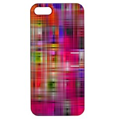 Background Abstract Weave Of Tightly Woven Colors Apple Iphone 5 Hardshell Case With Stand