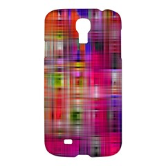 Background Abstract Weave Of Tightly Woven Colors Samsung Galaxy S4 I9500/I9505 Hardshell Case