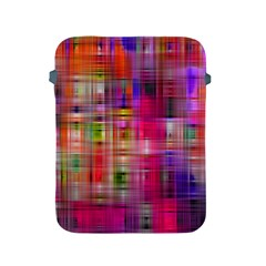 Background Abstract Weave Of Tightly Woven Colors Apple iPad 2/3/4 Protective Soft Cases