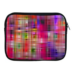Background Abstract Weave Of Tightly Woven Colors Apple iPad 2/3/4 Zipper Cases