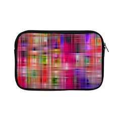 Background Abstract Weave Of Tightly Woven Colors Apple Ipad Mini Zipper Cases