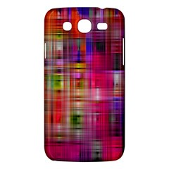 Background Abstract Weave Of Tightly Woven Colors Samsung Galaxy Mega 5.8 I9152 Hardshell Case