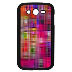 Background Abstract Weave Of Tightly Woven Colors Samsung Galaxy Grand DUOS I9082 Case (Black)
