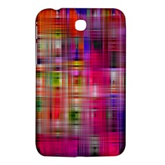 Background Abstract Weave Of Tightly Woven Colors Samsung Galaxy Tab 3 (7 ) P3200 Hardshell Case