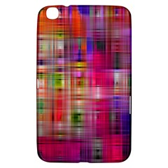 Background Abstract Weave Of Tightly Woven Colors Samsung Galaxy Tab 3 (8 ) T3100 Hardshell Case