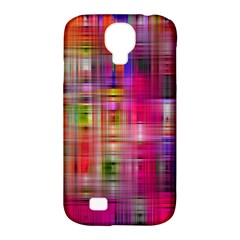Background Abstract Weave Of Tightly Woven Colors Samsung Galaxy S4 Classic Hardshell Case (pc+silicone)