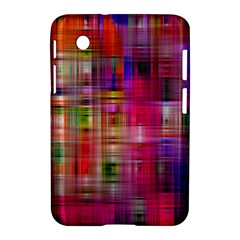 Background Abstract Weave Of Tightly Woven Colors Samsung Galaxy Tab 2 (7 ) P3100 Hardshell Case