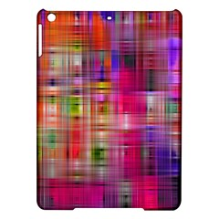 Background Abstract Weave Of Tightly Woven Colors Ipad Air Hardshell Cases