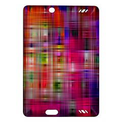Background Abstract Weave Of Tightly Woven Colors Amazon Kindle Fire HD (2013) Hardshell Case