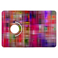 Background Abstract Weave Of Tightly Woven Colors Kindle Fire HDX Flip 360 Case