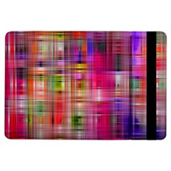 Background Abstract Weave Of Tightly Woven Colors iPad Air Flip