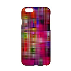 Background Abstract Weave Of Tightly Woven Colors Apple iPhone 6/6S Hardshell Case
