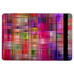 Background Abstract Weave Of Tightly Woven Colors Ipad Air 2 Flip