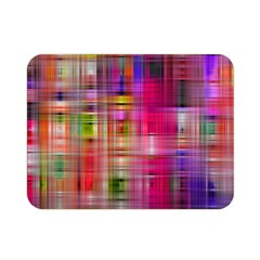 Background Abstract Weave Of Tightly Woven Colors Double Sided Flano Blanket (Mini)
