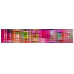 Background Abstract Weave Of Tightly Woven Colors Flano Scarf (large)