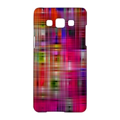 Background Abstract Weave Of Tightly Woven Colors Samsung Galaxy A5 Hardshell Case
