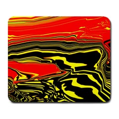 Abstract Clutter Large Mousepads