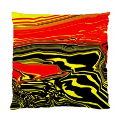 Abstract Clutter Standard Cushion Case (one Side)
