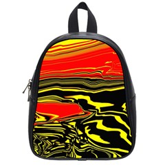 Abstract Clutter School Bags (small)